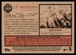 2011 Topps Heritage #368  J.P. Arencibia  Back Thumbnail