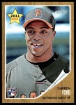 2011 Topps Heritage #289  Darren Ford  Front Thumbnail