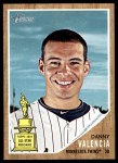 2011 Topps Heritage #283  Danny Valencia  Front Thumbnail