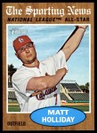 2011 Topps Heritage #395   -  Matt Holliday All-Star Front Thumbnail