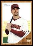 2011 Topps Heritage #240  Xavier Nady  Front Thumbnail