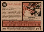 2011 Topps Heritage #412  Colby Rasmus  Back Thumbnail