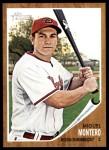 2011 Topps Heritage #420  Miguel Montero  Front Thumbnail