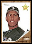 2011 Topps Heritage #326  Gregory Infante  Front Thumbnail