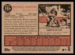 2011 Topps Heritage #386  Michael Cuddyer  Back Thumbnail