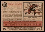 2011 Topps Heritage #324  Tommy Hunter  Back Thumbnail