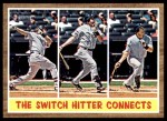 2011 Topps Heritage #318   -  Mark Teixeira The Switch Hitter Connects Front Thumbnail