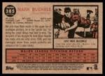 2011 Topps Heritage #385  Mark Buehrle  Back Thumbnail