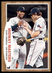 2011 Topps Heritage #211   -  Elvis Andrus / Ian Kinsler Midway Masters Front Thumbnail