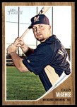 2011 Topps Heritage #382  Casey McGehee  Front Thumbnail
