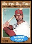 2011 Topps Heritage #390   -  Albert Pujols All-Star Front Thumbnail