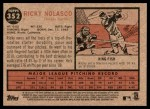 2011 Topps Heritage #352  Ricky Nolasco  Back Thumbnail