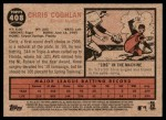2011 Topps Heritage #408  Chris Coghlan  Back Thumbnail
