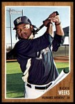 2011 Topps Heritage #208  Rickie Weeks  Front Thumbnail