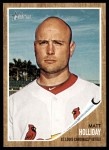 2011 Topps Heritage #370  Matt Holliday  Front Thumbnail