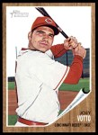 2011 Topps Heritage #350  Joey Votto  Front Thumbnail