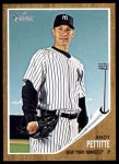 2011 Topps Heritage #310  Andy Pettitte  Front Thumbnail
