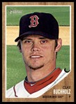 2011 Topps Heritage #301  Clay Buchholz  Front Thumbnail
