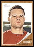 2011 Topps Heritage #419  Wandy Rodriguez  Front Thumbnail