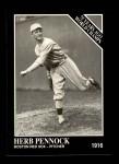 1991 Conlon #143   -  Herb Pennock 1916 Champs Front Thumbnail