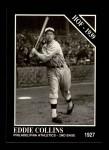 1991 Conlon #21  Eddie Collins  Front Thumbnail