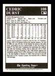 1991 Conlon #108   -  Cedric Durst 1927 Yankees Back Thumbnail
