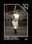 1991 Conlon #108   -  Cedric Durst 1927 Yankees Front Thumbnail