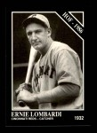 1991 Conlon #27  Ernie Lombardi  Front Thumbnail