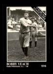 1991 Conlon #159   -  Bob Veach 1916 League Leaders Front Thumbnail