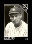 1991 Conlon #157   -  Wally Pipp 1916 League Leaders Front Thumbnail