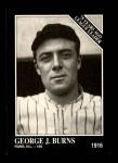 1991 Conlon #158   -  George J. Burns 1916 League Leaders Front Thumbnail