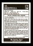 1991 Conlon #170   -  Al Bridwell Story Back Thumbnail