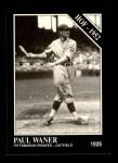 1991 Conlon #5  Paul Waner  Front Thumbnail
