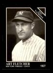 1991 Conlon #117   -  Art Fletcher 1927 Yankees Front Thumbnail