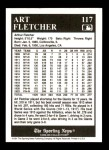 1991 Conlon #117   -  Art Fletcher 1927 Yankees Back Thumbnail
