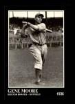 1991 Conlon #77  Gene Moore  Front Thumbnail