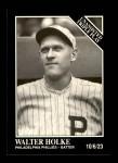 1991 Conlon #207   -  Walter Holke Triple Play Front Thumbnail
