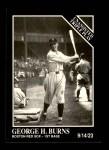 1991 Conlon #201   -  George H. Burns Triple Play Front Thumbnail
