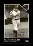 1991 Conlon #270   -  Heinie Manush All-Time Leaders Front Thumbnail