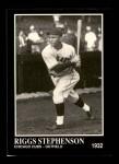 1991 Conlon #218  Riggs Stephenson  Front Thumbnail