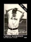 1991 Conlon #57  Christy Mathewson  Front Thumbnail