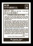 1991 Conlon #175   -  Bob O'Farrell Story Back Thumbnail