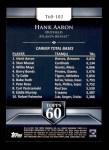 2011 Topps 60 #102 T-60 Hank Aaron  Back Thumbnail
