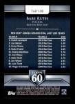 2011 Topps 60 #108 T-60 Babe Ruth  Back Thumbnail