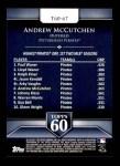 2011 Topps 60 #67 T-60 Andrew McCutchen  Back Thumbnail