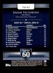 2011 Topps 60 #82 T-60 Shane Victorino  Back Thumbnail