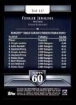 2011 Topps 60 #117 T-60 Fergie Jenkins  Back Thumbnail