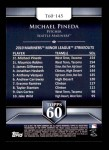 2011 Topps 60 #145 T-60 Michael Pineda  Back Thumbnail