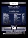 2011 Topps 60 #20 T-60 Manny Ramirez  Back Thumbnail