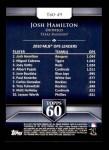 2011 Topps 60 #49 T-60 Josh Hamilton  Back Thumbnail